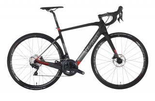 Wilier CENTO1HY + ULTEGRA R8020 + MICHE Black Red